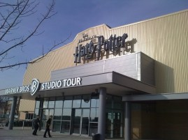 March: A visit to the Harry Potter studio tour before it was opened to the public