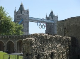 July: London during the 2012 Olympics