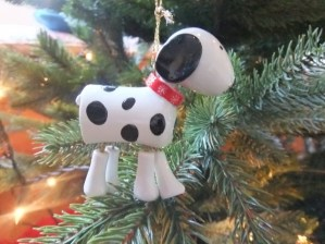 Spotty dog, which always makes me smile.