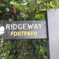 walking The Ridgeway from Tring Station to Wendover