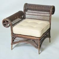 Antique Wicker Corner Chair   Elaine Phillips Antiques