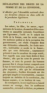 By Olympe de Gouges (Originally from [1].) [Public domain], via Wikimedia Commons