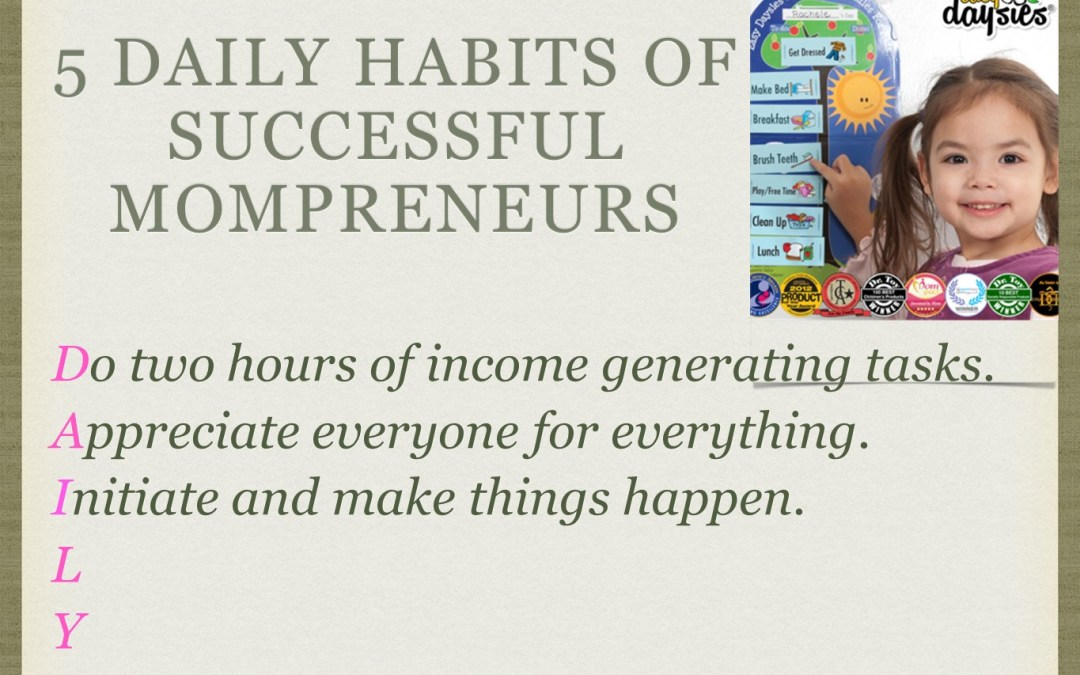 Daily success habits