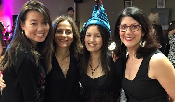 Elaine Tan Comeau, Maria Freeman, Sharon Chai, Wendy Armbruster-Bell