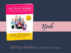 Sell Your Passion Book by Elaine Tan Comeau