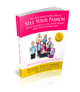 Sell Your Passion Book - Elaine Tan Comeau