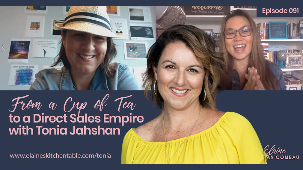 Episode 091 – From a Cup of Tea to a Direct Sales Empire – tips and strategies from Tonia Jahshan of Sipology