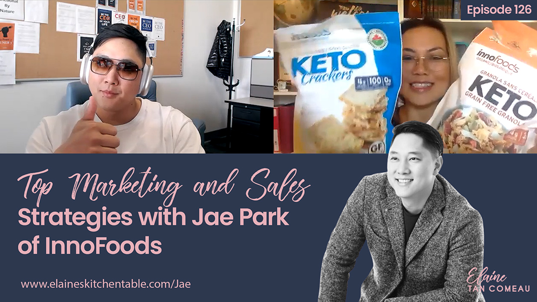 126 – Top Marketing and Sales Strategies with Jae Park of Inno Foods