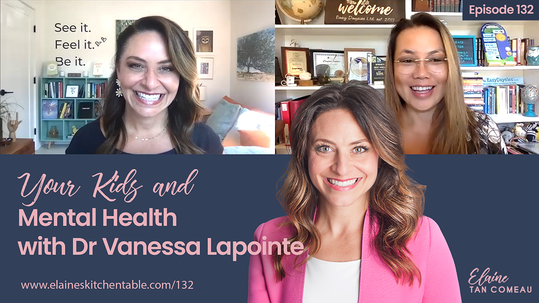 132 – Your Kids and Mental Health, with Dr Vanessa Lapointe