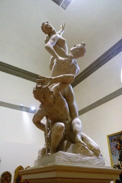 The Rape of the Sabines by Jean de Boulogne (plaster cast model)