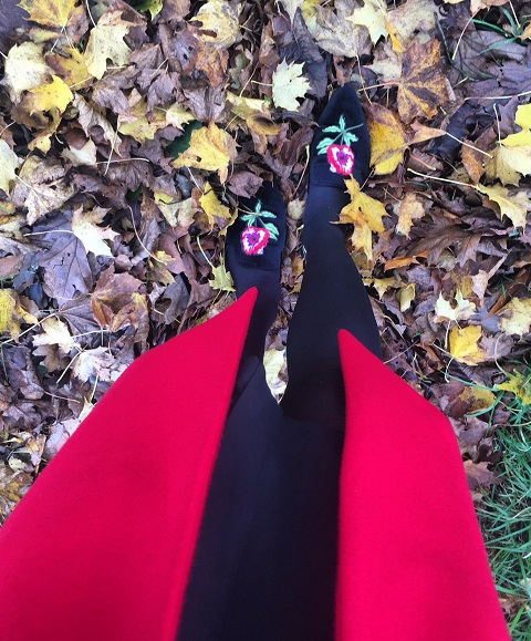 Fall into Red this Autumn