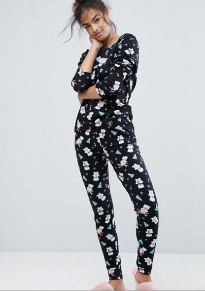 ASOS Polar Bear pyjamas
