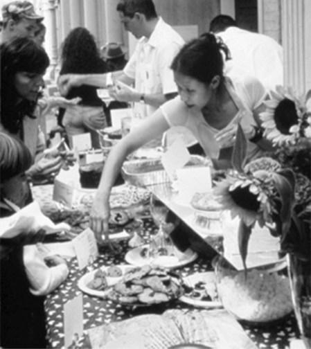bake sale-selling