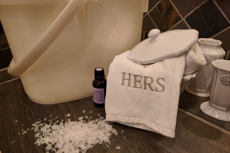 Stomp Out Stress With A Simple Foot Soak