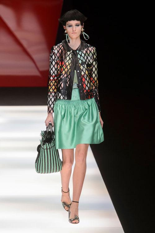 Colecția lui Giorgio Armani prezentată la Paris Fashion Week 2018 2