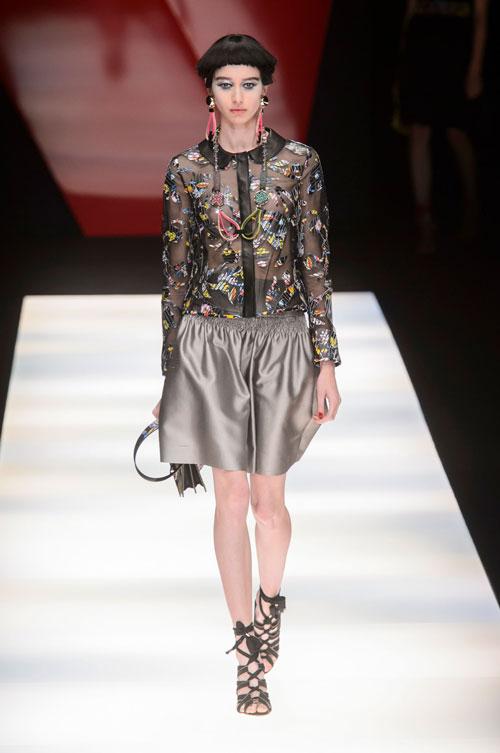 Colecția lui Giorgio Armani prezentată la Paris Fashion Week 2018 3