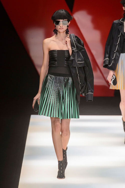 Colecția lui Giorgio Armani prezentată la Paris Fashion Week 2018 9