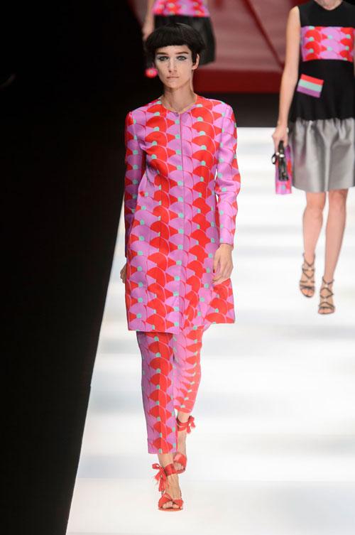 Colecția lui Giorgio Armani prezentată la Paris Fashion Week 2018 19