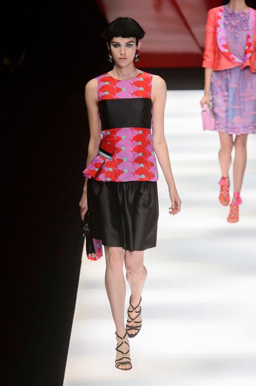 Colecția lui Giorgio Armani prezentată la Paris Fashion Week 2018 21
