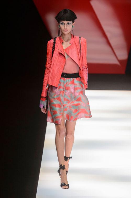Colecția lui Giorgio Armani prezentată la Paris Fashion Week 2018 24
