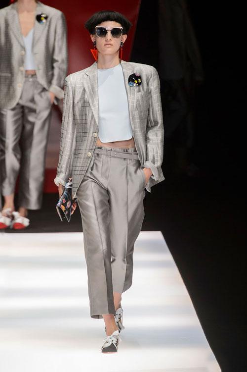 Colecția lui Giorgio Armani prezentată la Paris Fashion Week 2018 28