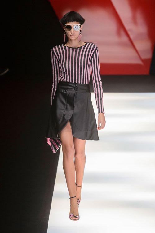 Colecția lui Giorgio Armani prezentată la Paris Fashion Week 2018 39