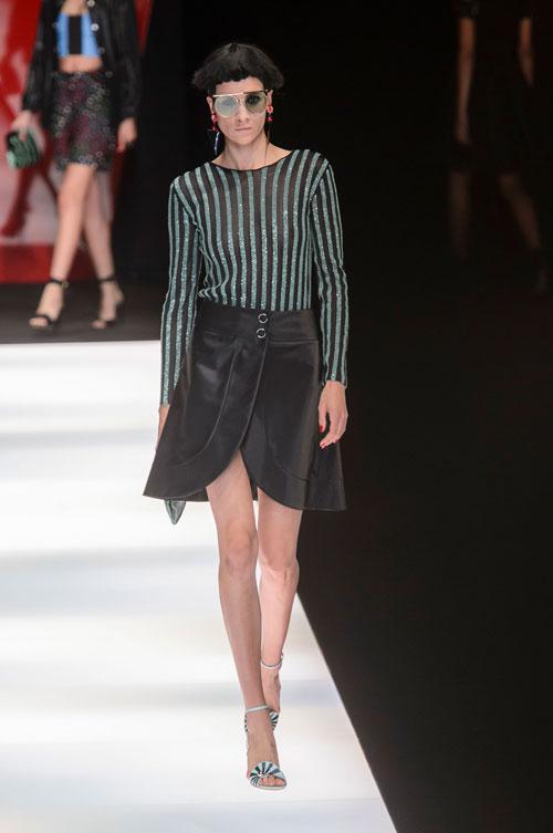 Colecția lui Giorgio Armani prezentată la Paris Fashion Week 2018 40