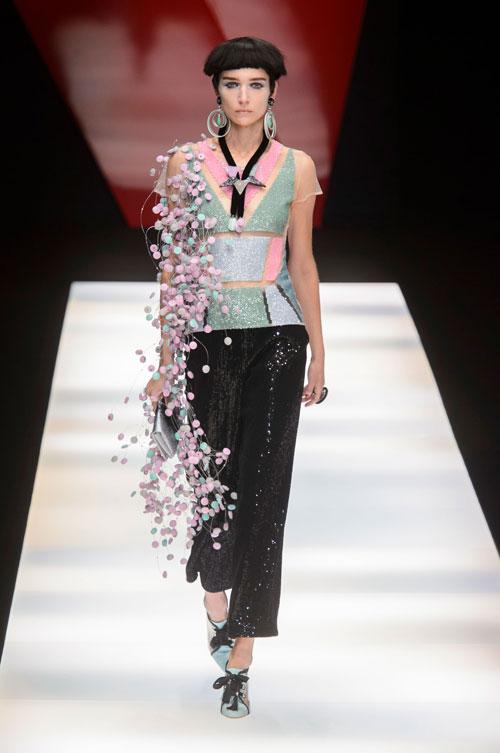 Colecția lui Giorgio Armani prezentată la Paris Fashion Week 2018 50