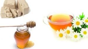 Mască pentru  ten acneic cu miere și drojdie