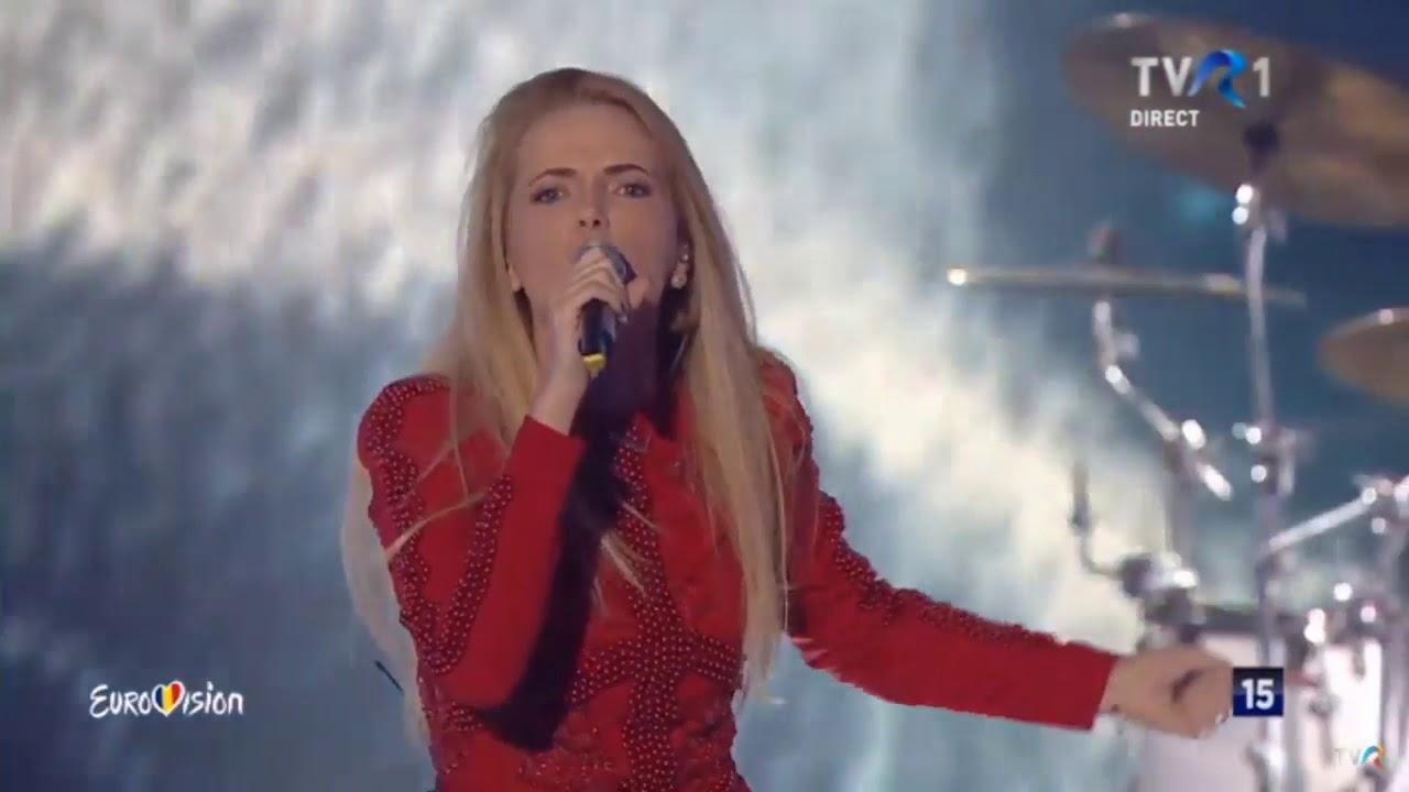 The Humans-Eurovision România 2018, poziția a doua în semifinală 1