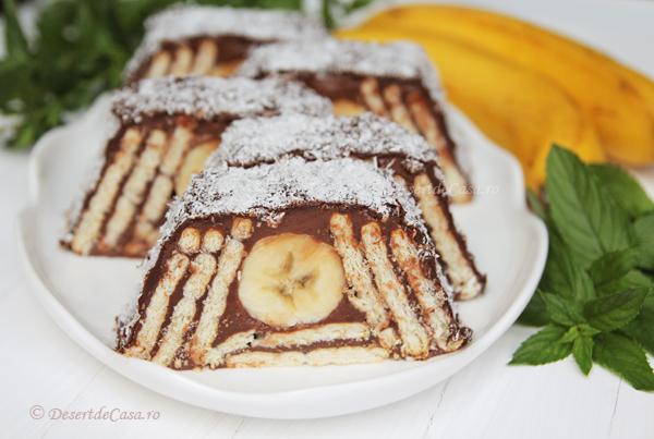 Prajitura-cu-biscuiti-si-banane