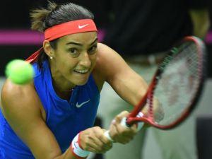 Caroline Garcia nu ştie dacă va participa la meciul de Fed Cup dintre Franţa şi România