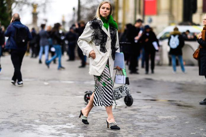 Stilul pe stradă Paris Fashion Week.(Galerie Foto) 10