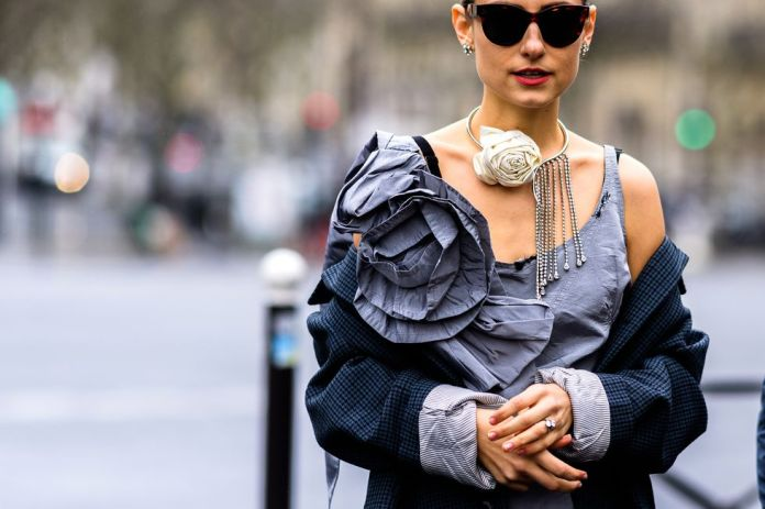 Stilul pe stradă Paris Fashion Week.(Galerie Foto) 9