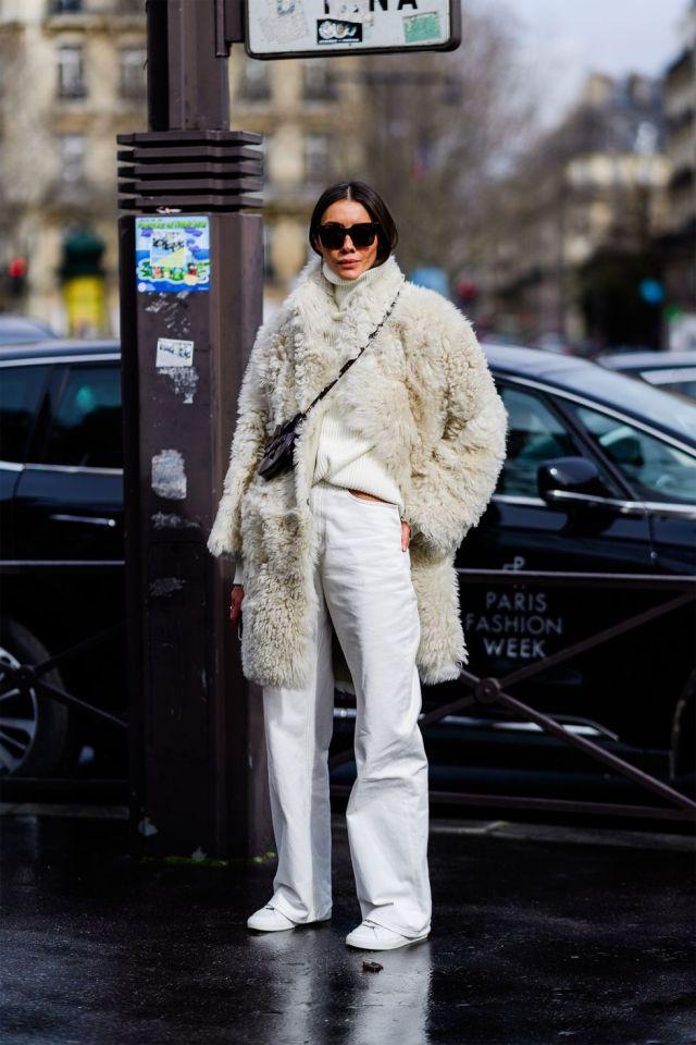 Stilul pe stradă Paris Fashion Week.