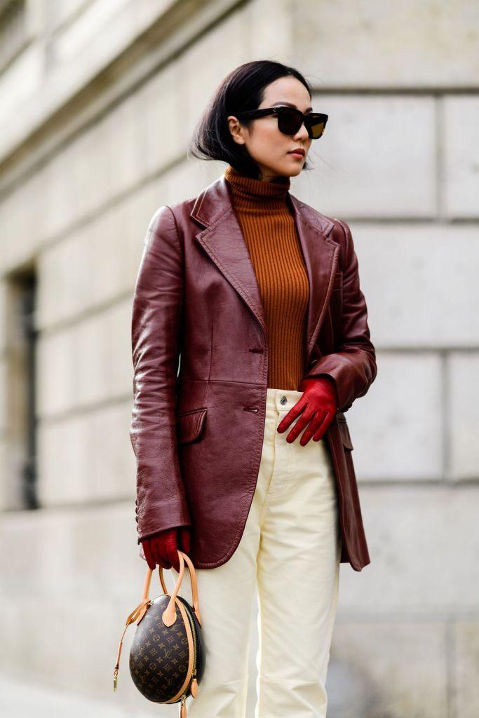 Stilul pe stradă Paris Fashion Week.(Galerie Foto) 21