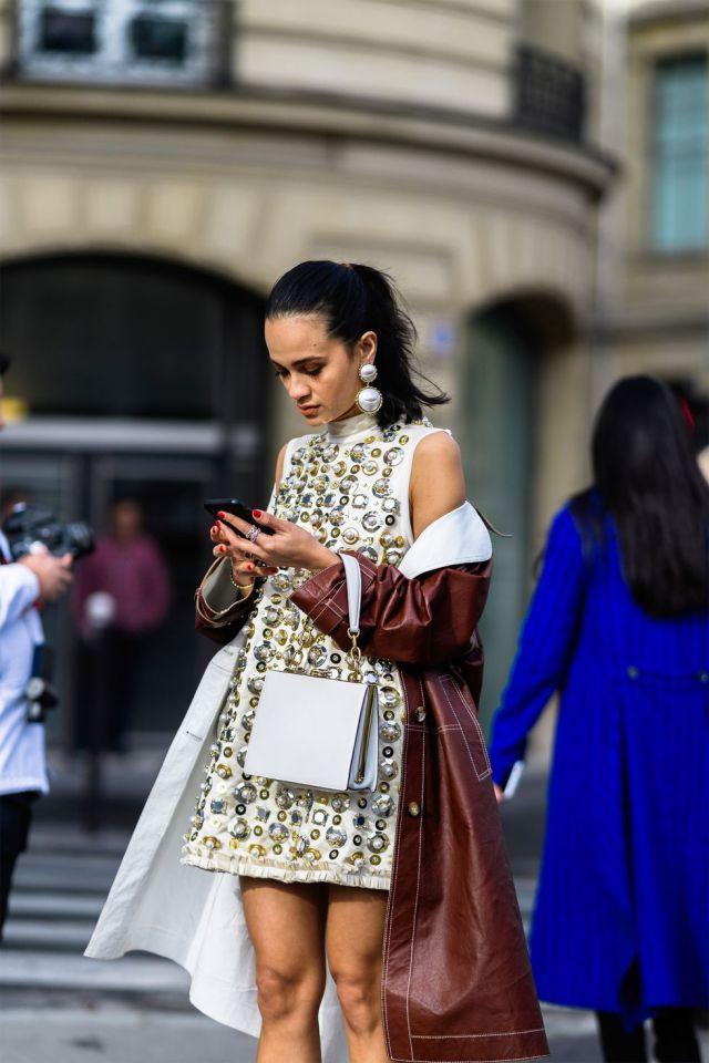 stilul pe stradă Paris