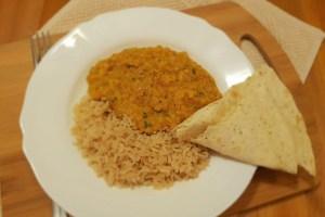Dal de linte din bucătăria indiană