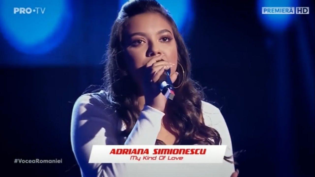 Adriana Simionescu la Vocea României 2019/Audiții-My Kind Of Love 3