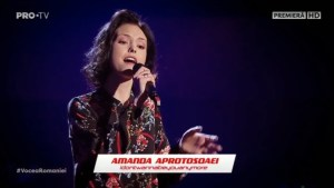 "Amanda Aprotosoaei la Vocea României 2019/Audiții- ""idontwannabeyouanymore"""