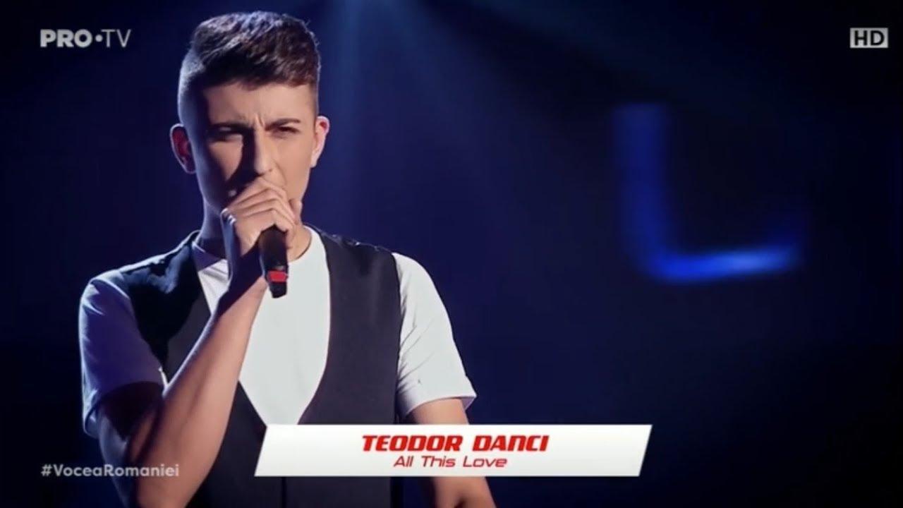 Teodor Danci la Vocea României 2019/Audiții 1