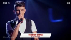 Teodor Danci la Vocea României 2019/Audiții