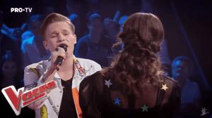Andi Țolea și Zoe Grigoraș: Confruntare la Vocea României 2019