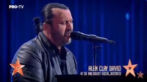 Alen Clay David- Românii au talent – Un moment impresionant până la lacrimi