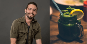 Smoothie verde de ghimbir -Rețeta lui Cavin Balaster