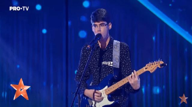Alexandru și Cătălin Gogoșeanu au cântat la Românii au talent 2020, piesa lui Prince, Purple Rain 4