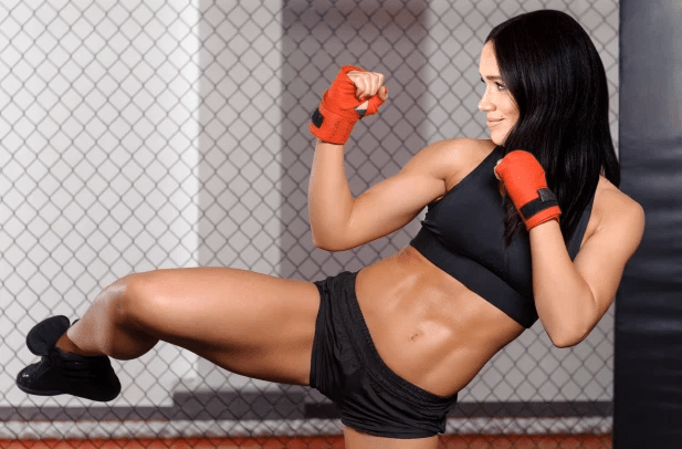 Meghan Markle is trained in martial arts and kickboxing