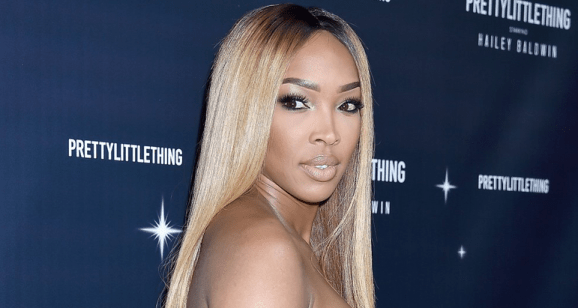 Malika Haqq struggles with anxiety