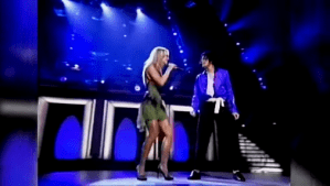 Michael Jackson ft. Britney Spears – The Way You Make Me Feel (MSG 30th Anniversary)