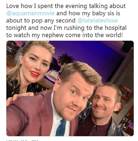 Amber Heard appears on episode The Late Late Show in 2015 3